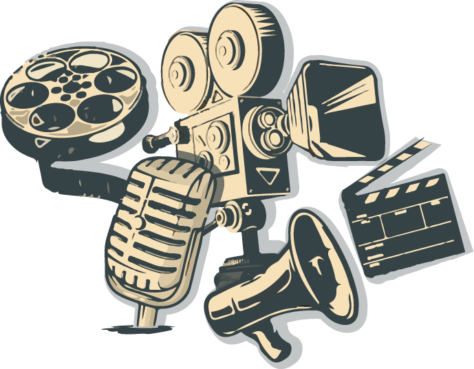 Intro illustration - camera